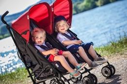 Doppel Kinderwagen von Hauch